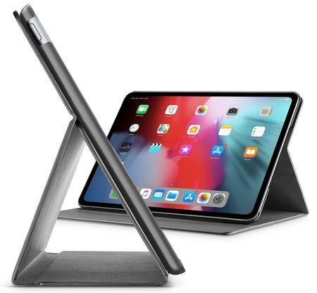 """CellularLine Pouzdro se stojánkem FOLIO pro Apple iPad Pro 12,9 """" (2018), černé FOLIOIPADPRO18129K"""