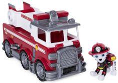 Spin Master Paw Patrol hasičský vůz s Marshalem ultimate rescue solid
