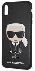 Karl Lagerfeld obudowa Ikonik TPU Case Black dla iPhone XS Max KLHCI65IKPUBK