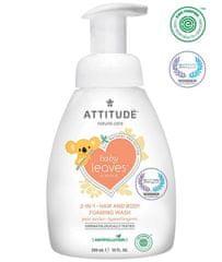 Attitude sapun za bebe i šampon Baby leaves, s mirisom kruške, 473 ml