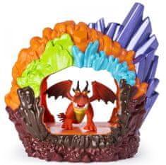 Spin Master Draci 3 Svítící dračí jeskyně s figurkou-Hookfang