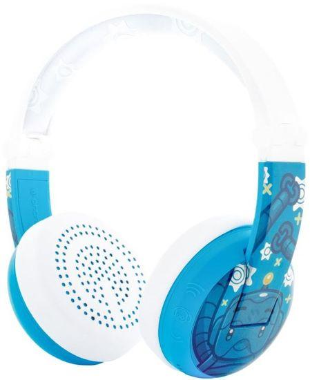 BuddyPhones Wave bezdrátová sluchátka, modrá