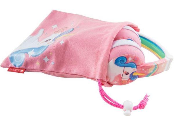 Bluetooth sluchátka dětská buddyphones wave buddyjack handsfree mikrofon flexi čelenka hypoalergenní náušníky