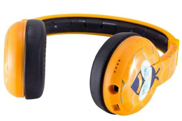 buddyphones sluchátka bezdrátová dětská wave 4 režimy poslechu nastavitelné decibely studijní režim zlepšení řeči