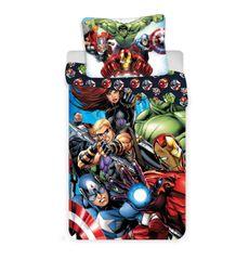 Jerry Fabrics Povlečení Avengers 03