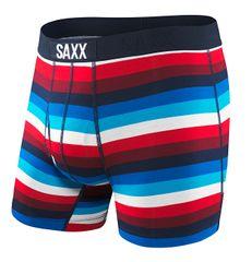 SAXX Bokserki męskie Ultra Boxer Brief Fly Nav / rd