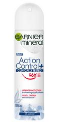 Garnier antiperspirant v razpršilu Mineral Action Control, 150 ml