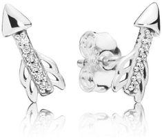 Pandora Ezüst fülbevaló Amor Arrow 297828 ezüst 925/1000