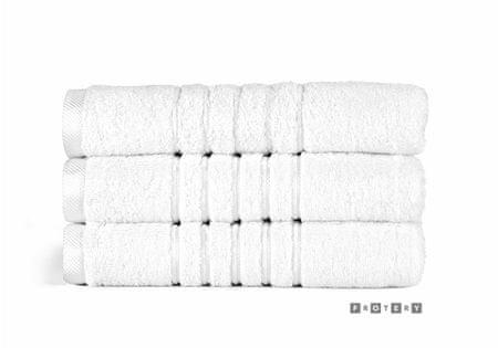FROTERY brisača Brilliant, 50 x 100 cm, bela