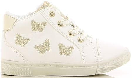 V+J lány bokacipő pillangókkal 20 fehér