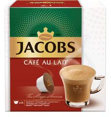 Jacobs Kapsle 14 ks Café Au Lait
