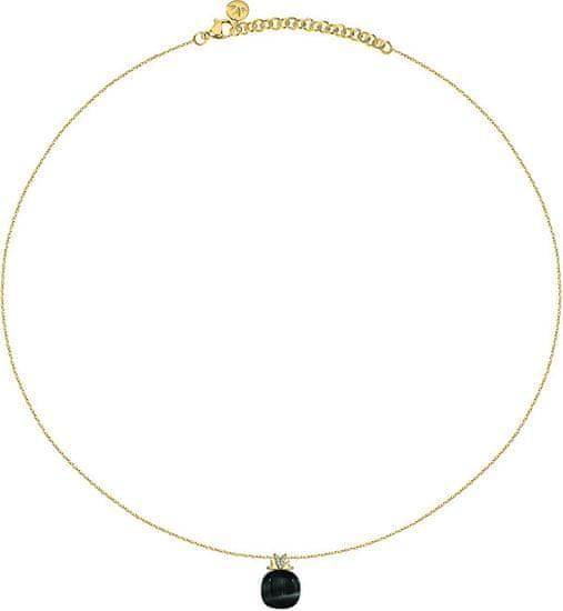 Morellato Zlacený náhrdelník Gemma SAKK101 (řetízek, přívěsek) stříbro 925/1000