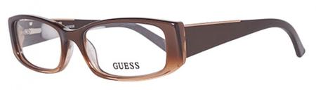 Guess damskie oprawki do okularów brązowy