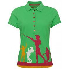 Girls Golf 3x Girls Halfarm Polo dámské tričko