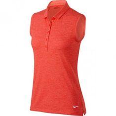 Nike Icon Sleeveless Heather dámské Golf Polo