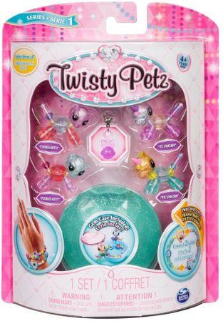 Spin Master Twisty Petz 4 náramky zvířecích miminek - Kitty a Unicorn