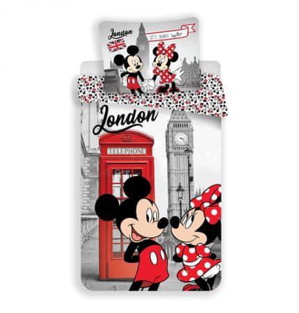 Jerry Fabrics Povlečení Mickey Mouse in London Telephone