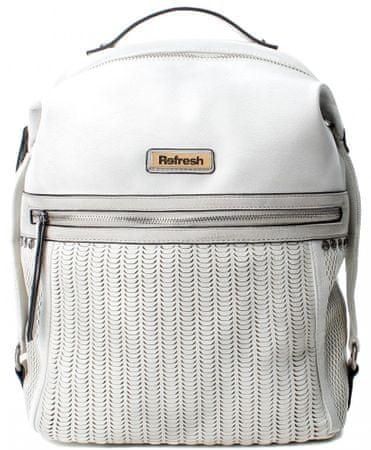 Refresh női fehér hátizsák