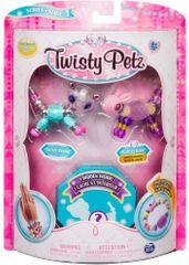 Spin Master Twisty Petz 3karkötők/kisállatok - Panda és Bunny