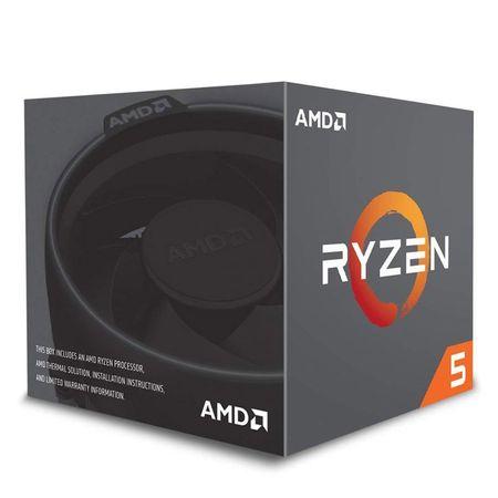 AMD procesor RYZEN 5 2600X MAX 4.25GHz 95W BOX WRAITH