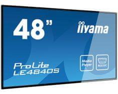 iiyama LED LCD monitor ProLite LE4840S-B1, črn