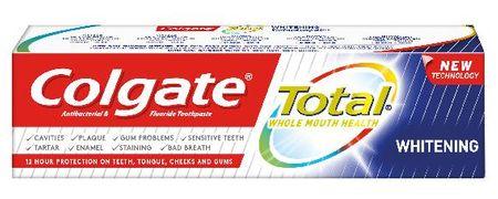 Colgate zobna pasta Total whitening, 75 ml