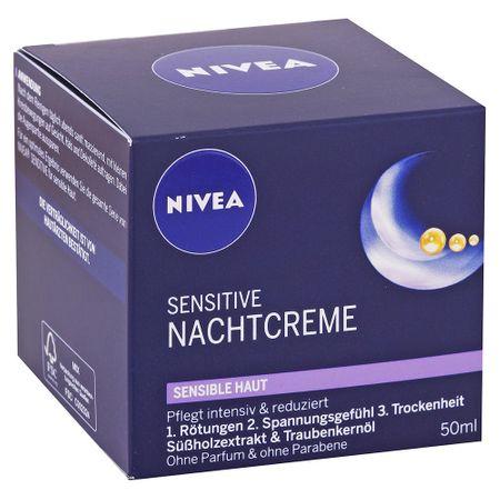 Nivea noćna krema za osjetljivu kožu, 50ml