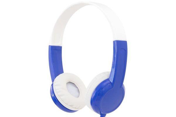 buddyphones discover vezetékes fejhallgató gyermekeknek buddyjack rugalmas fejpánt hipoallergén fülpárnák kisebb formába csukható össze