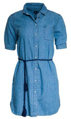 Pepe Jeans dámské šaty Evelyn L modrá