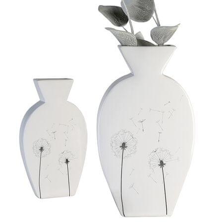 Papillon Keramická váza Púpavy, 24 cm