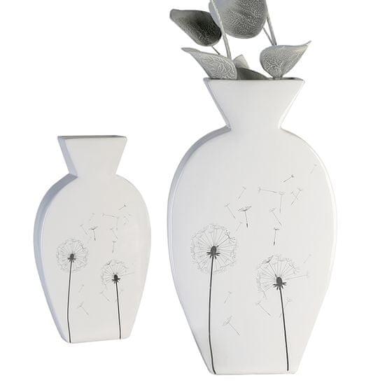 Papillon Keramická váza Púpavy, 35 cm