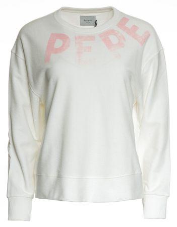 Pepe Jeans dámská mikina Primrose XS bílá