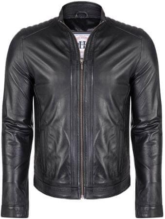 FELIX HARDY pánská kožená bunda L čierna