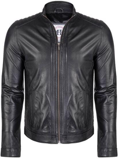 FELIX HARDY pánská kožená bunda L černá