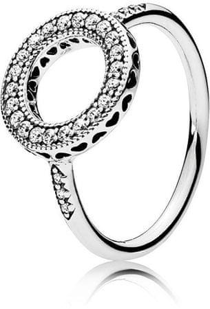 Pandora Srebrno svetleč prstan 191039CZ (Vezje 50 mm) srebro 925/1000