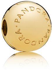Pandora Aranyozott ezüst klip Logo 767053 ezüst 925/1000