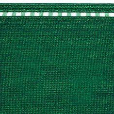 TENAX SPA COIMBRA árnyékoló háló 100% 1.5m magas, zöld