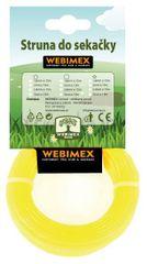 """Webimex STRUNA VYŽÍNACIA """"Štandard - guľatá"""" 1,6 mm x 15m 10 kusov"""