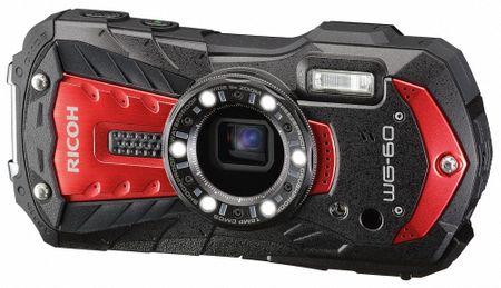 Ricoh fotoaparat WG60, rdeč