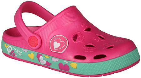 Coqui dívčí sandály Froggy 26.5 růžová