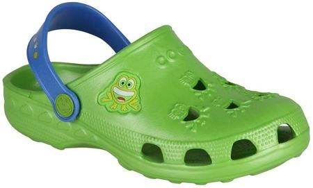 Coqui chlapecké sandály Little Frog 29.5 zelená