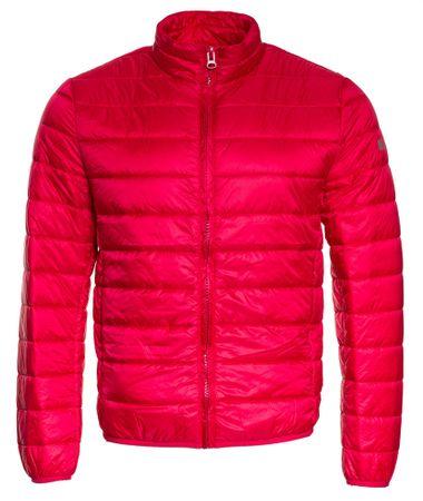 Mustang férfi kabát Padded L piros