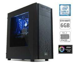MEGA namizni računalnik 6000X i7-8700/16GB/SSD500GB+1TB/GTX1660Ti/FreeDOS (PC-G6972X-M)