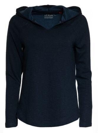 s.Oliver női pulóver 34 sötétkék