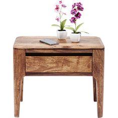 KARE Noční stolek Brooklyn nature 30x50 cm