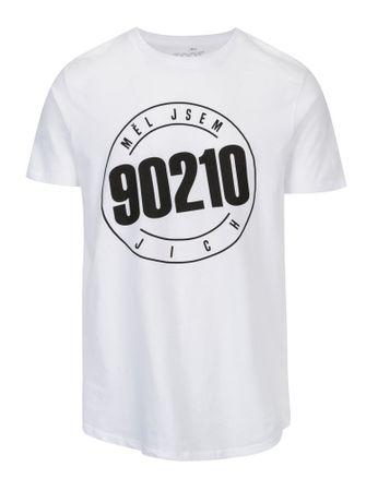 0a361032d06f ZOOT Original bílé pánské tričko s potiskem 90210 XXL