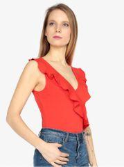 Vero Moda červené body s volány Lally
