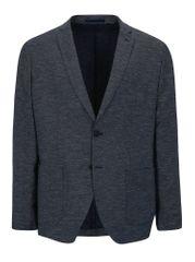 Selected Homme bílo-modré vzorované sako s příměsí lnu One Venice