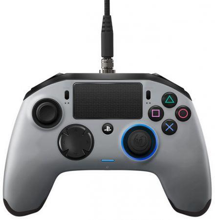 Nacon igralni plošček PS4 REVOLUTION PRO, srebrn