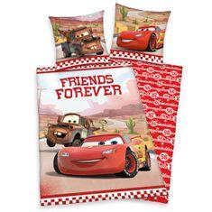Herding posteljnina Cars Friends Forever